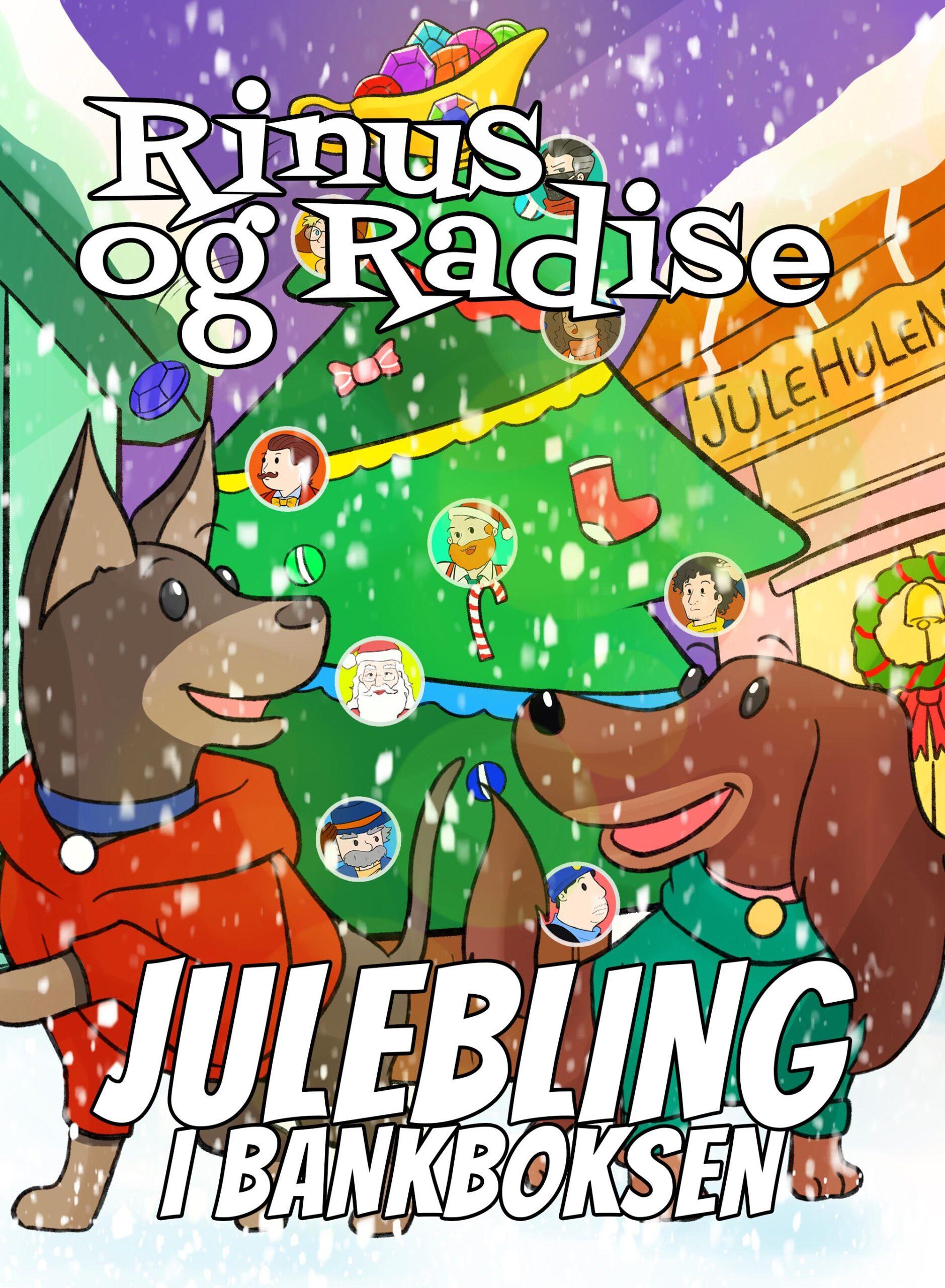 Sjov børnebog - Spændende børnebog - Rinus og Radise - Højtlæsningsbog